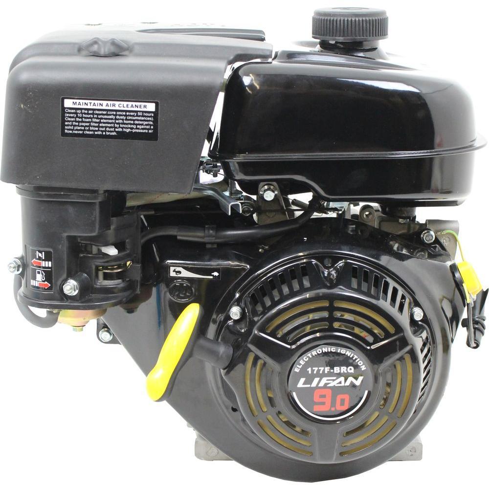 lifan 1 in 9 hp 270cc ohv recoil start 2 1 clutch gear. Black Bedroom Furniture Sets. Home Design Ideas