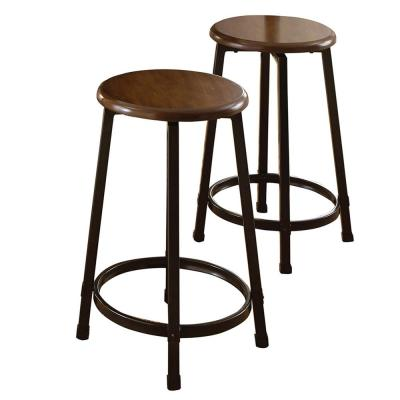 Rebecca Brown 24 in. Counter Stool (Set of 2)