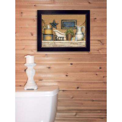 "10 in. x 14 in. ""Buttermilk Soap"" by Carrie Knoff Printed Framed Wall Art"