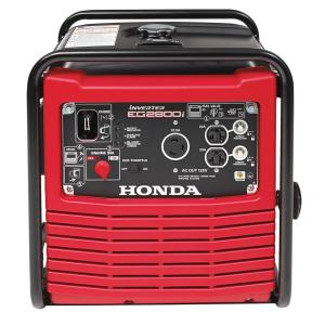 Honda 2,800-Watt Gasoline Powered Portable Inverter Generator with Eco-Throttle and Oil Alert by Honda
