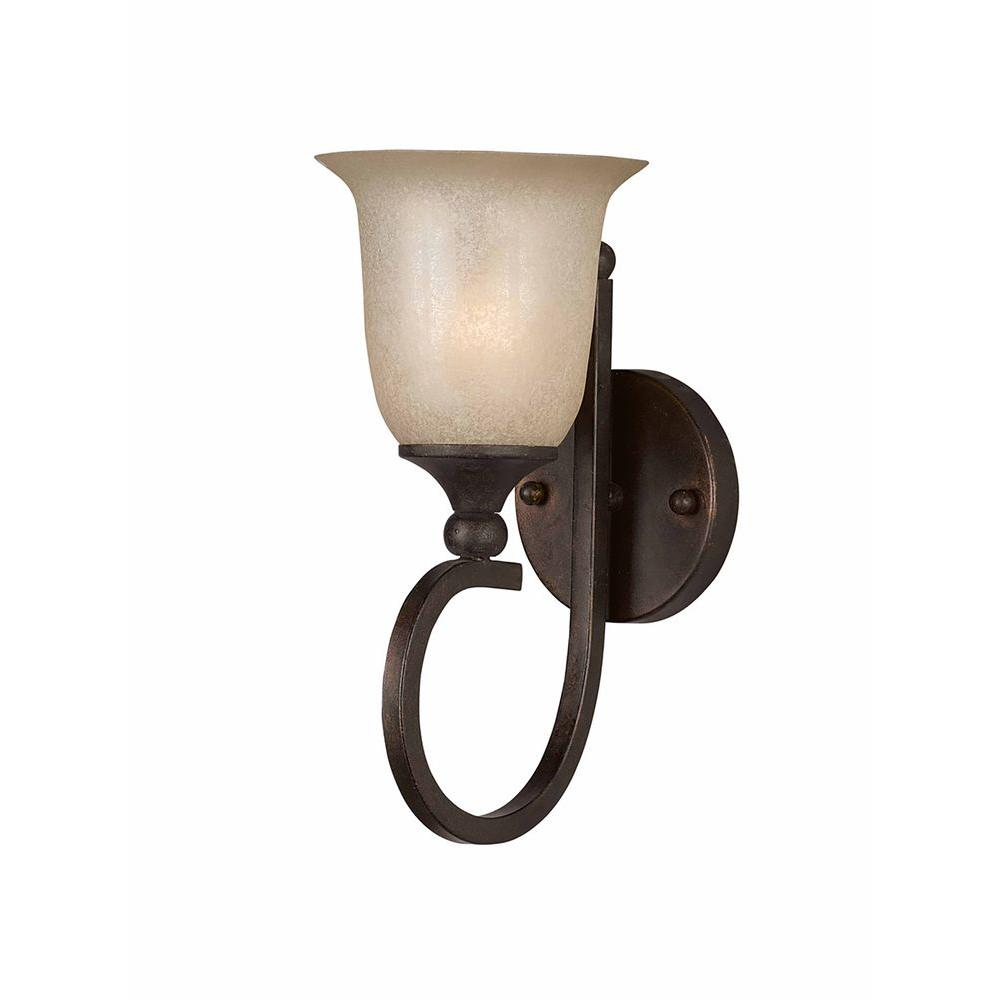 Filament Design Purelife 1-Light Bronze Sconce