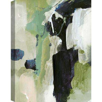 Green Fusion II Canvas Print by ArtMaison Canada