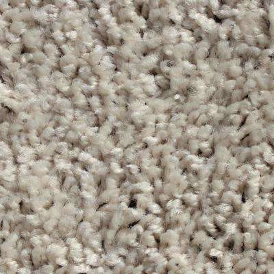 Mid-Century White Gloves 24 in. x 24 in. Residential Carpet Tile (12 Tiles/Case)
