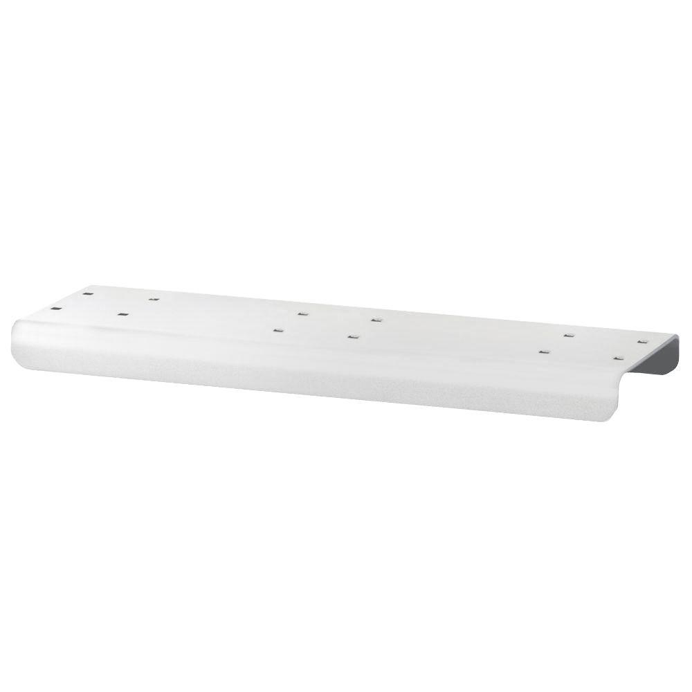 3 in. Wide Spreader for Rural Mailbox in White