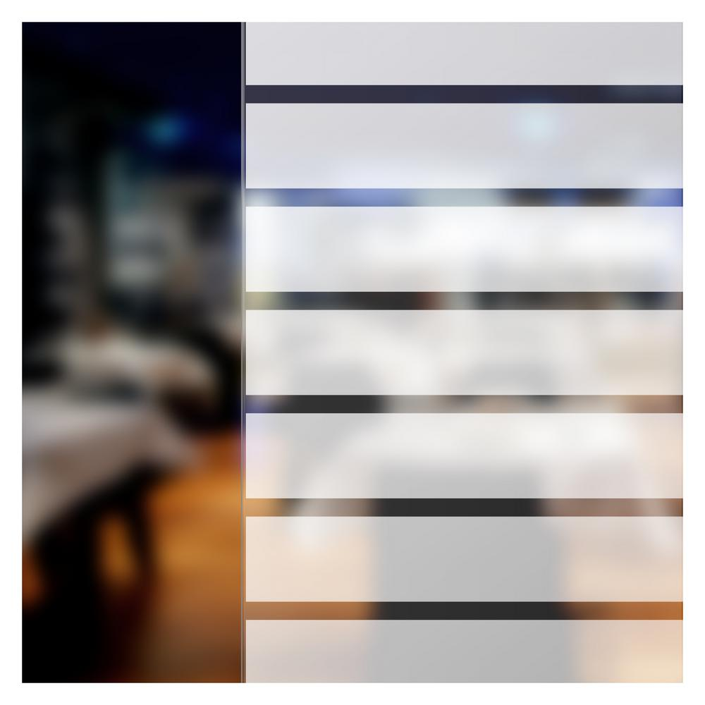 BuyDecorativeFilm 24 in. x 50 ft. BLP Blind Plus (1-3/4 in. Wide Blinds) Window Film