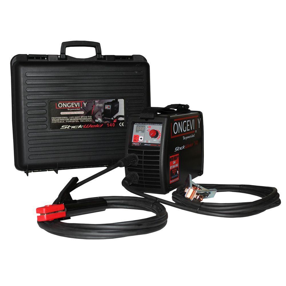 Stickweld 140 STL 140 Amp Stick Welder with Auto Voltage PFC Technology