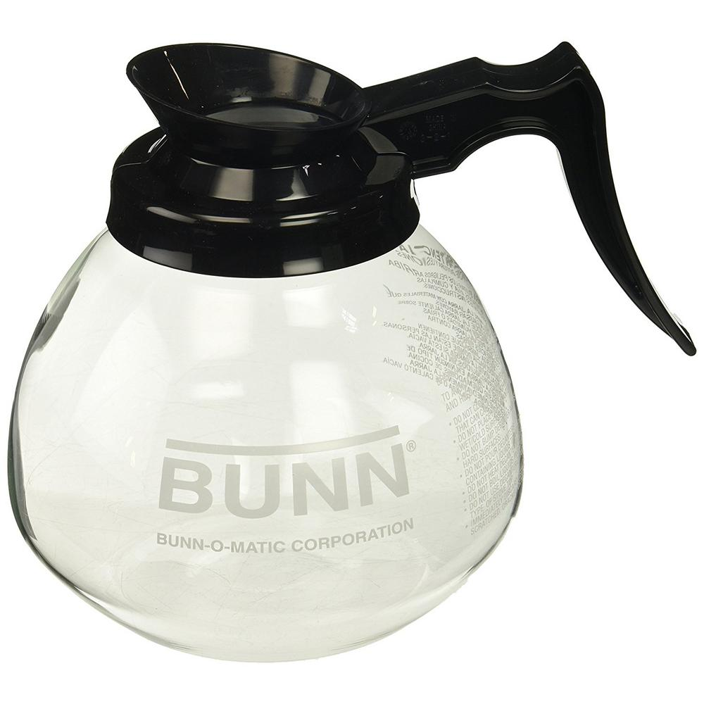 POTS PER CASE******BRAND-NEW****** 2 BUNN GLASS COFFEE DECANTERS 12 CUP