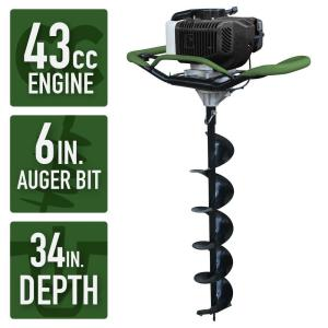 Sportsman Earth Series 43cc 6 inch Gas Powered Auger by Sportsman