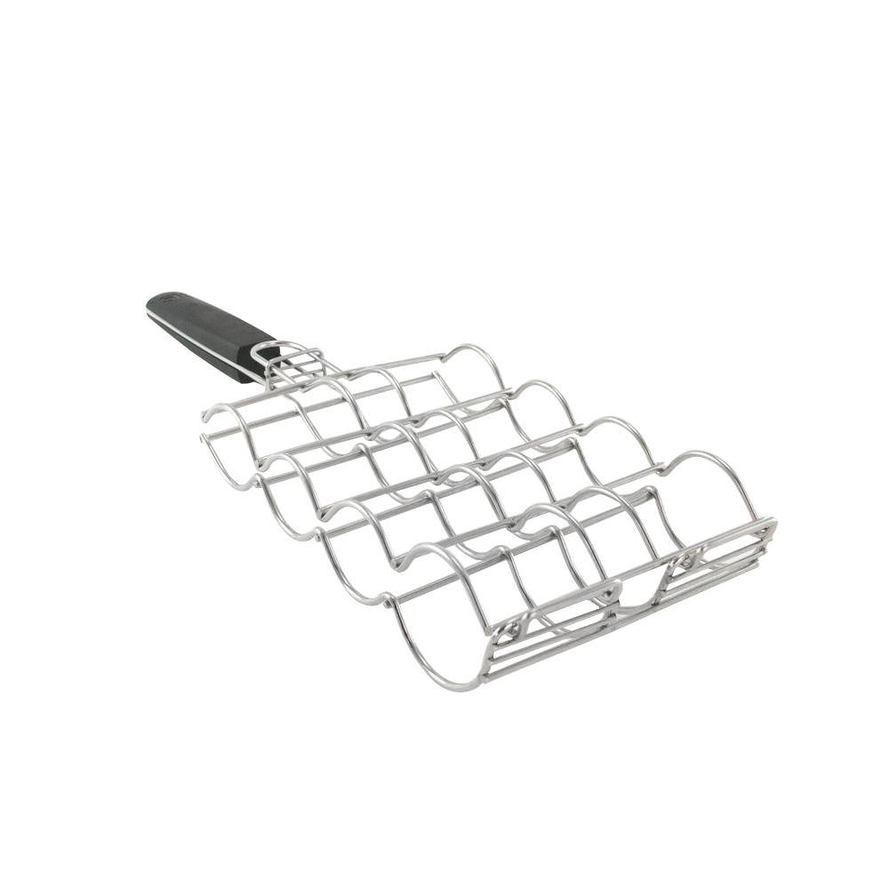 Stainless Adjustable Corn Grilling Basket