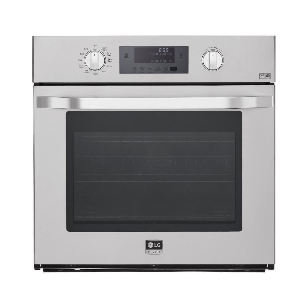 30 in. Single Electric Wall Oven Self-Cleaning with Convection and EasyClean