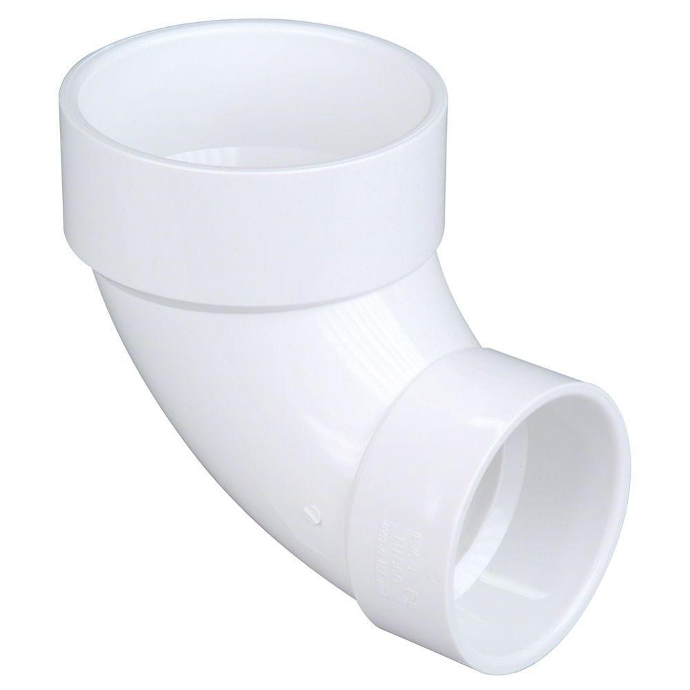 PVC DWV Spigot Closet Flange Nibco 4 in Lot of 5 x 3 in