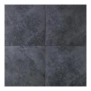 Daltile Continental Slate Asian Black 18 In X Porcelain Floor And Wall Tile Sq Ft Case Cs531818s1p6 The Home Depot