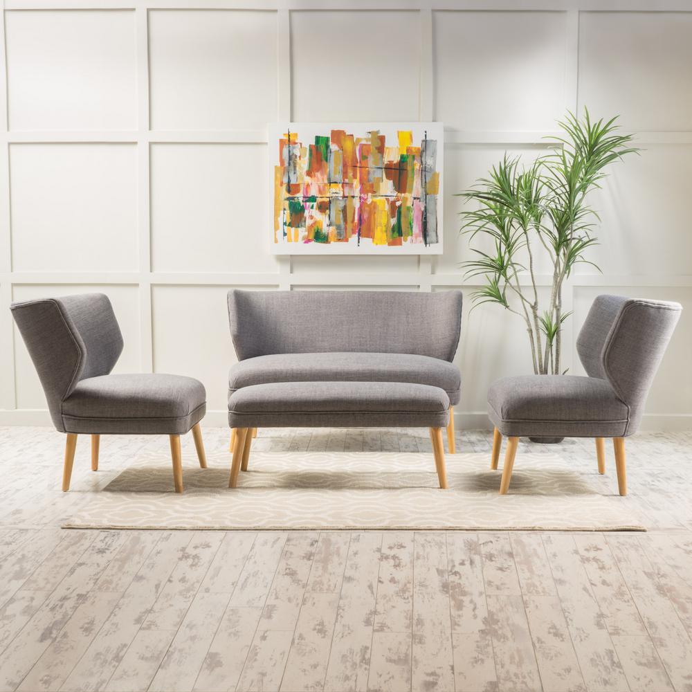 4 People Camel Gray Sofas Loveseats Living Room