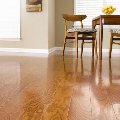 Oak Harvest 3/8 in. Thick x 4-1/4 in. Wide x Random Length Engineered Click Hardwood Flooring (20 sq. ft. / case)