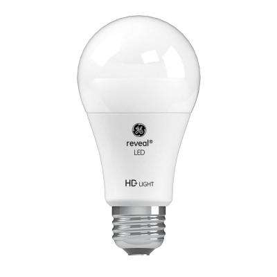 60W Equivalent Reveal (2,850K) High Definition A19 Dimmable LED (2-Pack)