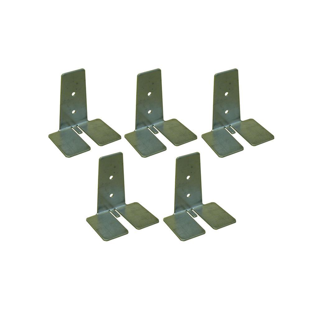 KWiKN-EZ 3 in. Glass Block Anchors for Glass Block (5-Pack)