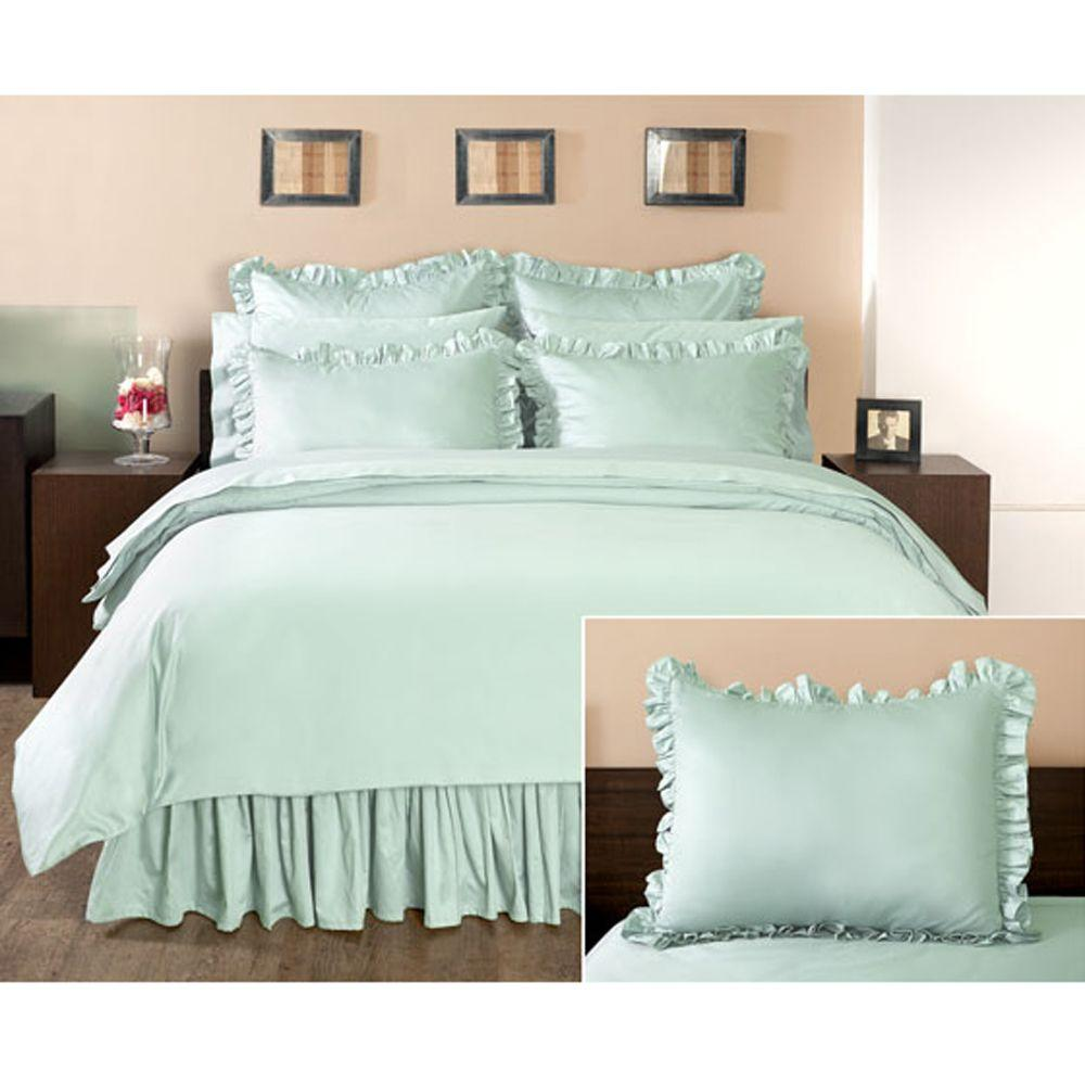 Home Decorators Collection Ruffled Watery Standard Sham