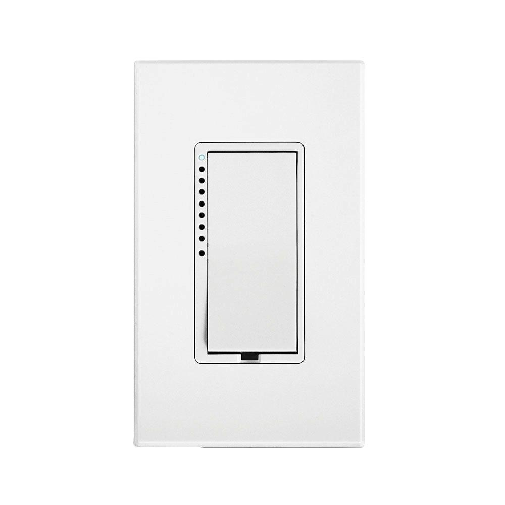 Insteon 1000 Watt Multi Location Tap Cfl Led Dimmer Switch White