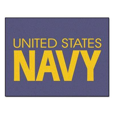 U.S. Navy 3 ft. x 4 ft. All-Star Rug