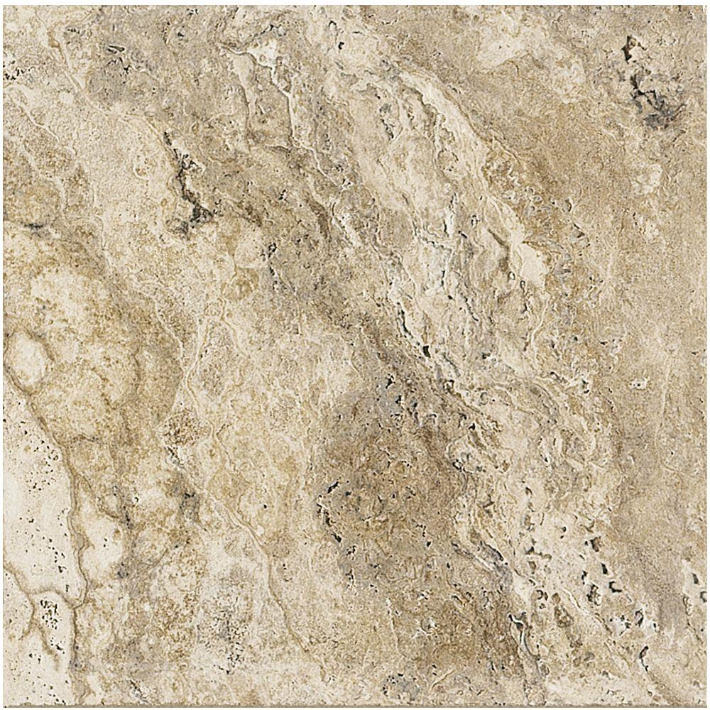 Marazzi travisano bernini 18 in x 18 in porcelain floor for Depot service carrelage craponne