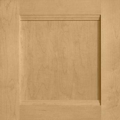 14-9/16 in. x 14-1/2 in. Cabinet Door Sample in Del Ray Maple Rye