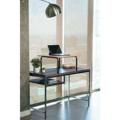 Brown Height Adjustable Table Low Cost Solution