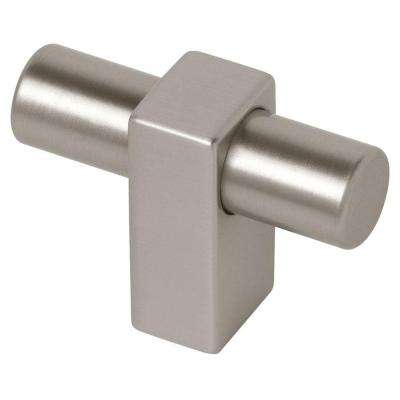 Modern Metal 1-3/4 in. (45mm) Stainless Steel Bar Cabinet Knob