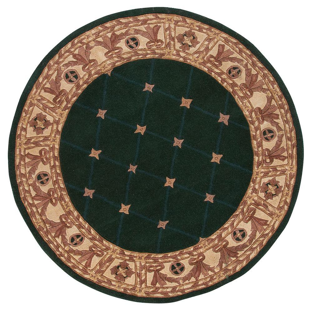 Home Decorators Collection Windsor Hunter Green 5 ft. Round Area Rug