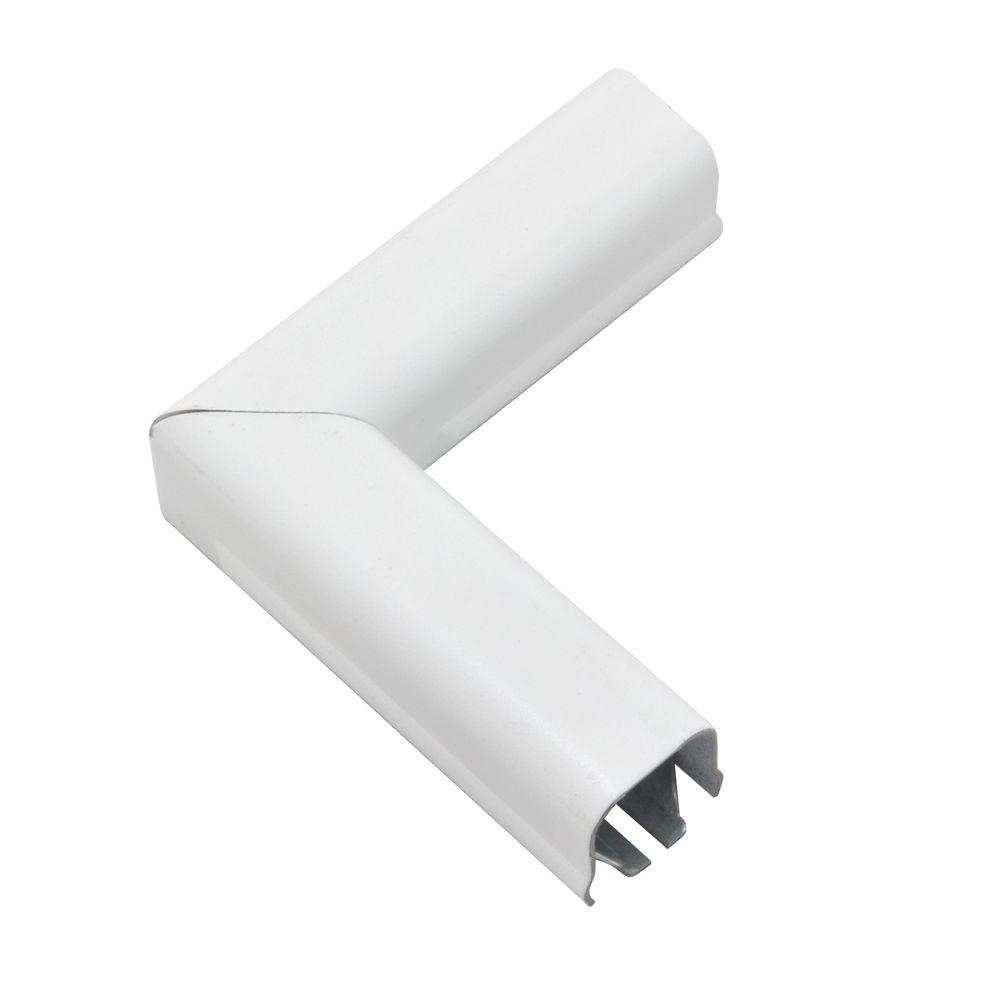 Legrand Wiremold 700 Series 90° Flat Metal Elbow - White