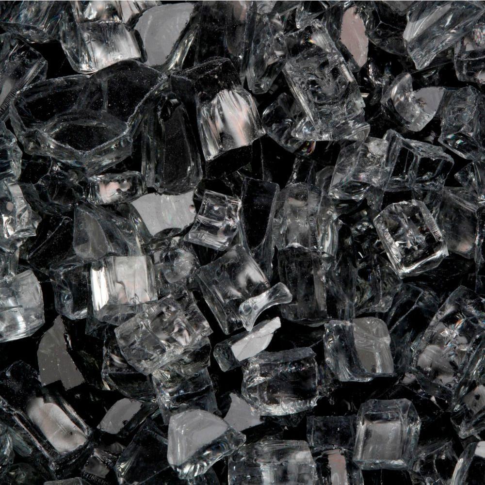 FireCrystals 30 lbs. Black Premier Fire Glass
