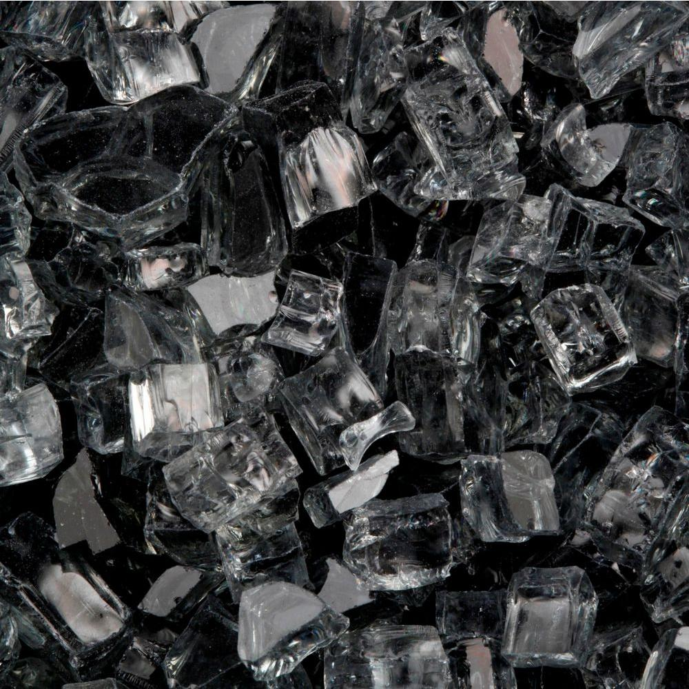 FireCrystals 50 lbs. Black Premier Fire Glass