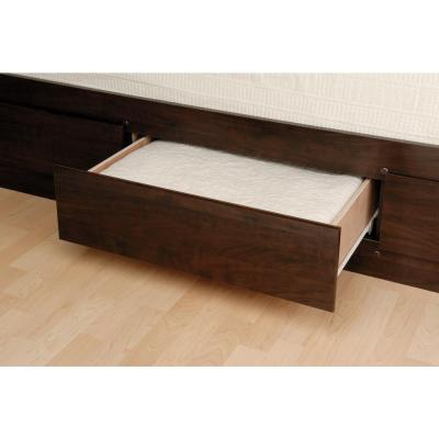 Queen Wood Storage Bed