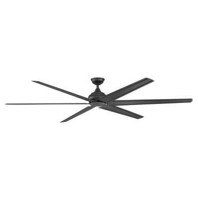 Fenceham 84 in. Natural Iron Ceiling Fan with Remote Control