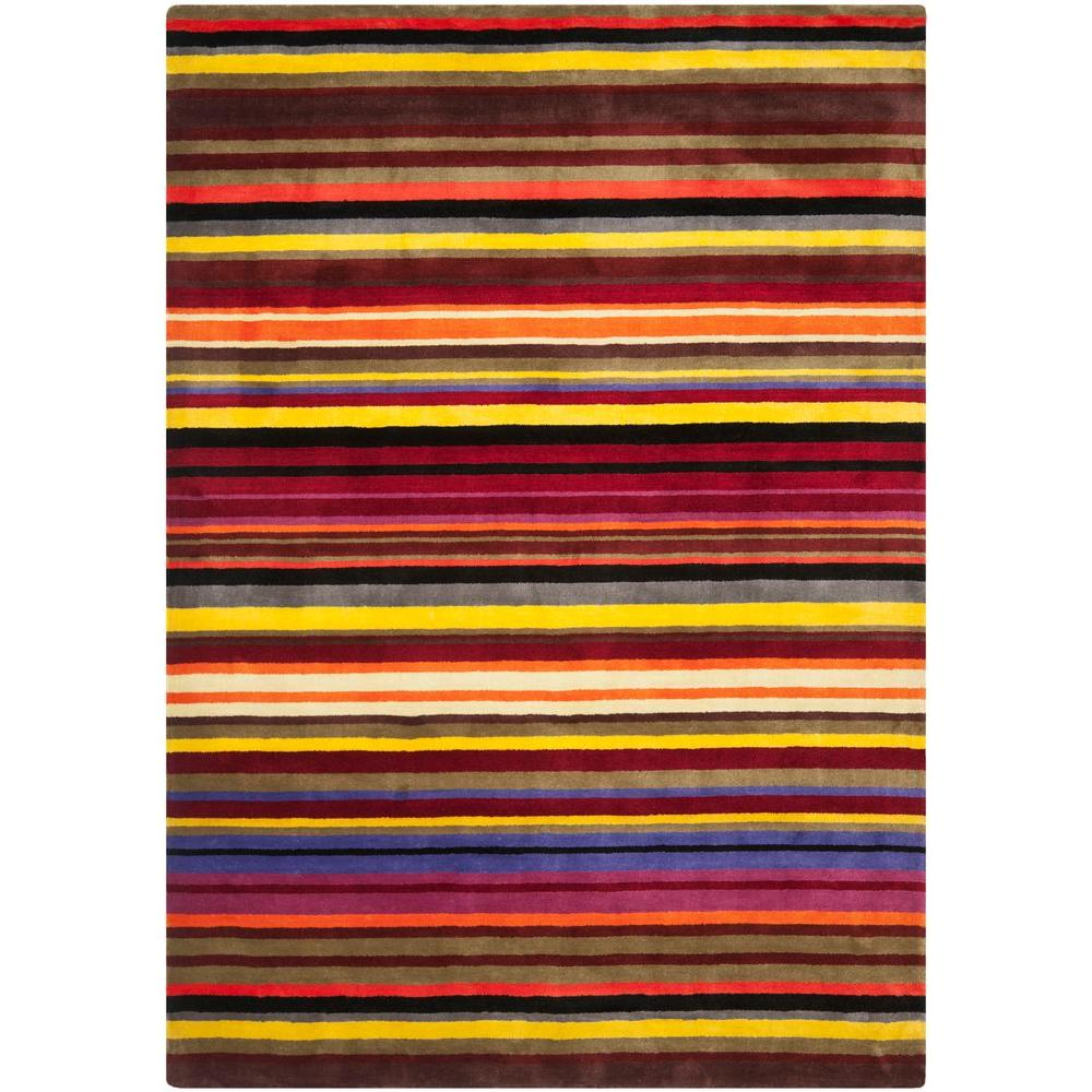 Safavieh Rodeo Drive Red/Multi 7 ft. 6 in. x 9 ft. 6 in. Area Rug