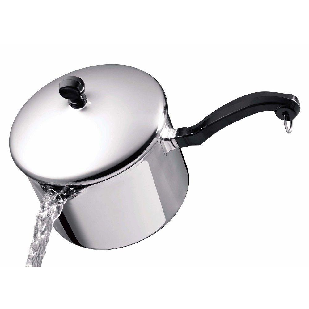 Classic Series 3 Qt. Stainless Steel Saucepan With Lid