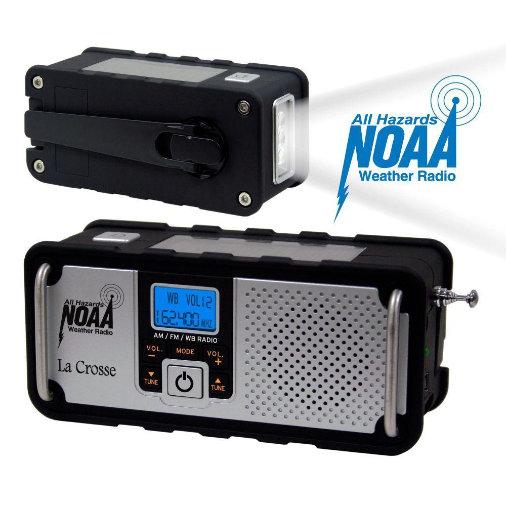 La Crosse Technology NOAA Severe Weather Alert Radio