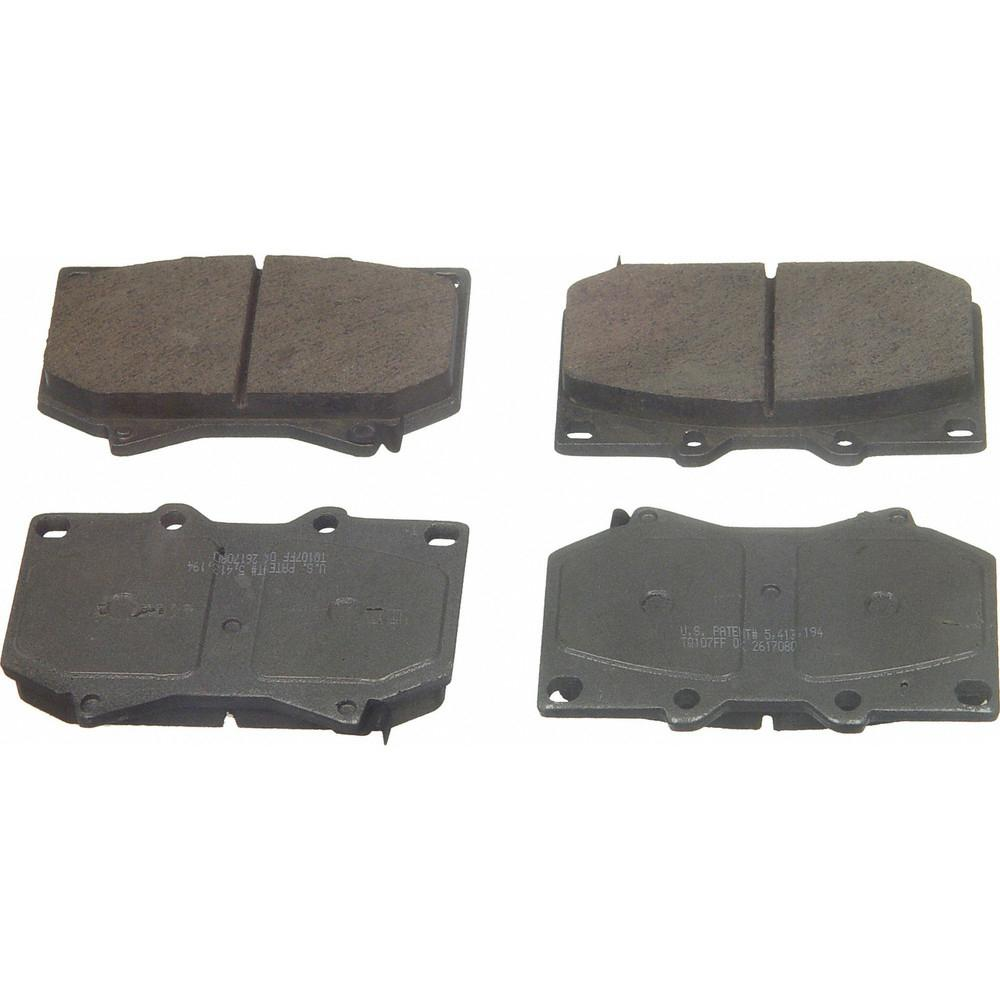 Disc Brake Pad Set-SevereDuty Disc Brake Pad Front Wagner SX1328
