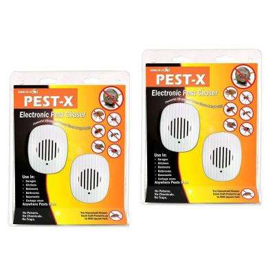 Pest-X All-Pest Rodent and Insect Repeller 500 sq. ft. #1 Best Seller Commercial Technology Pest Control (4-Pack)