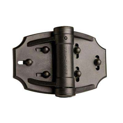 Tru-Close Black Vinyl Fence Hinge