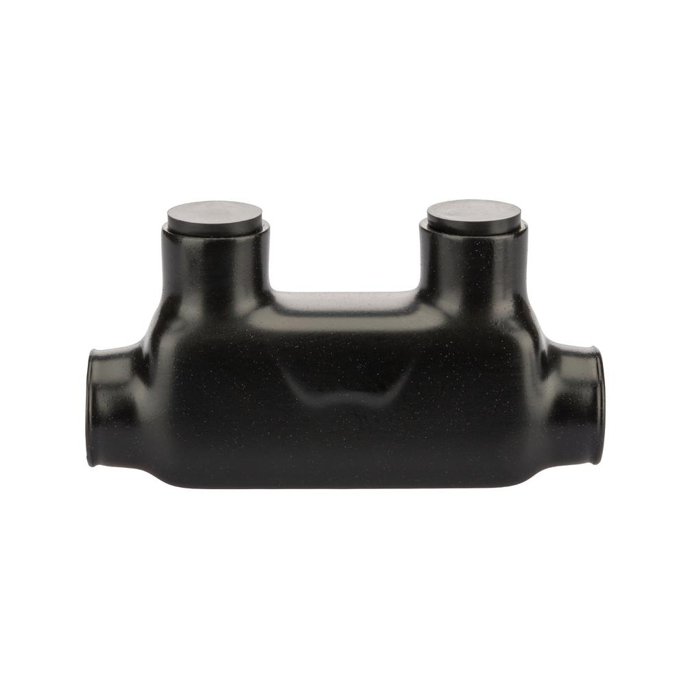 Polaris 1/0-14 AWG Bagged Insulated In-Line Splice, Black-ISR-1/0B ...