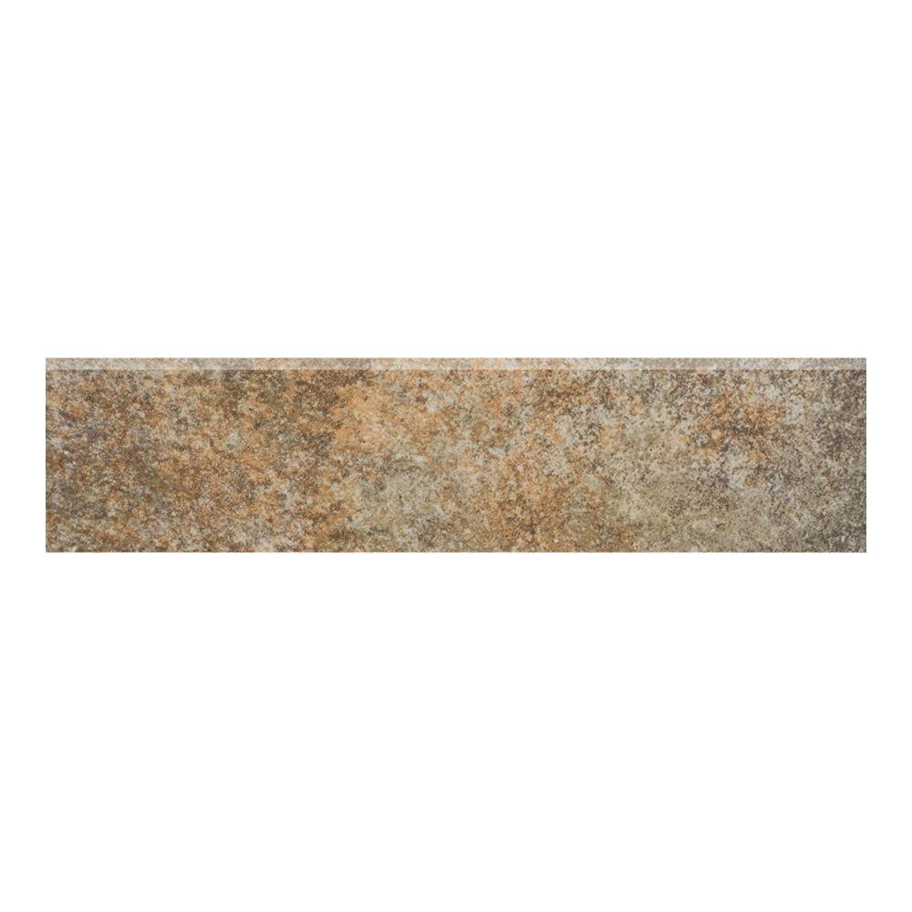 MARAZZI Granite 3 in. x 12 in. Marron Glazed Porcelain Floor and Wall Tile