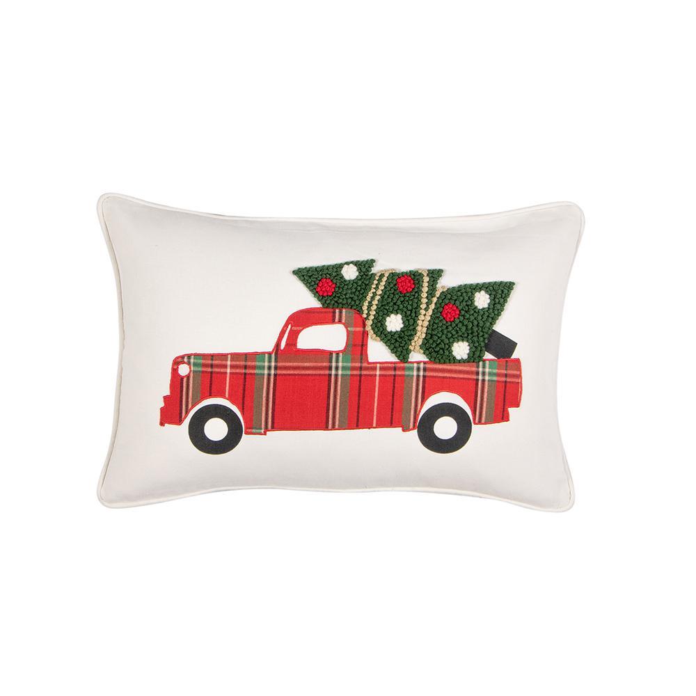 Tree Truck Down Standard Throw Pillow