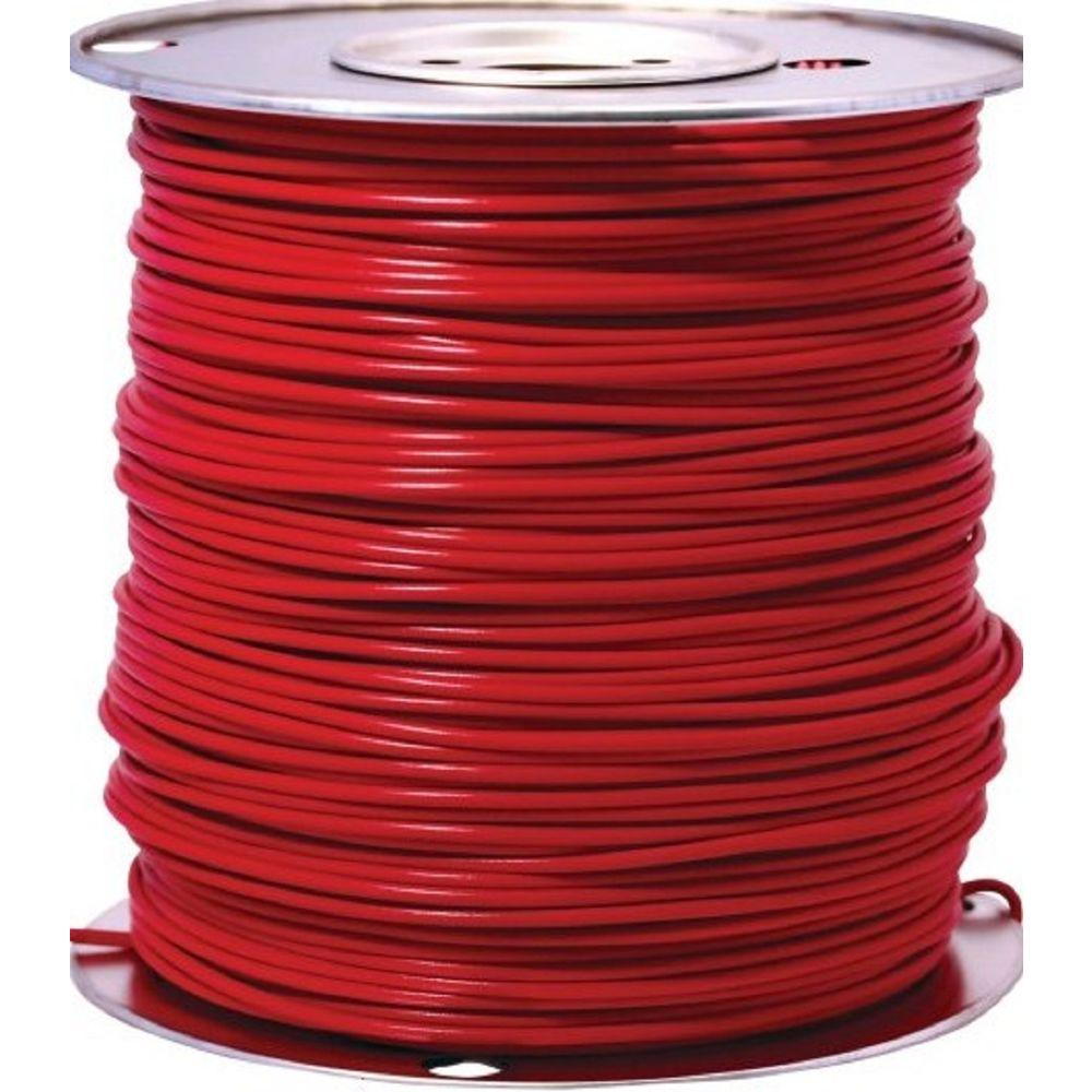 Doorbell wire wire the home depot 12 red stranded cu gpt primary auto wire greentooth Image collections