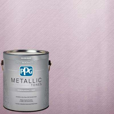 1 gal. MTL121 Pink Blink Metallic Interior Specialty Finish Paint