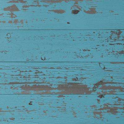 Timeline Wood 11/32 in. x 5.5 in. x 47.5 in. Blue Chalk Wood Panels (6-Pack)