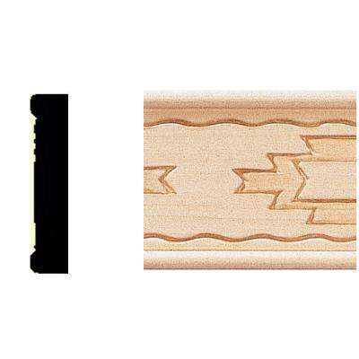 3/8 in. x 1-3/4 in. x 8 ft. Basswood Shelf Trim Moulding