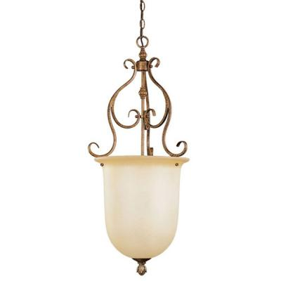 Providence 1-Light Venetian Patina Incandescent Ceiling Pendant