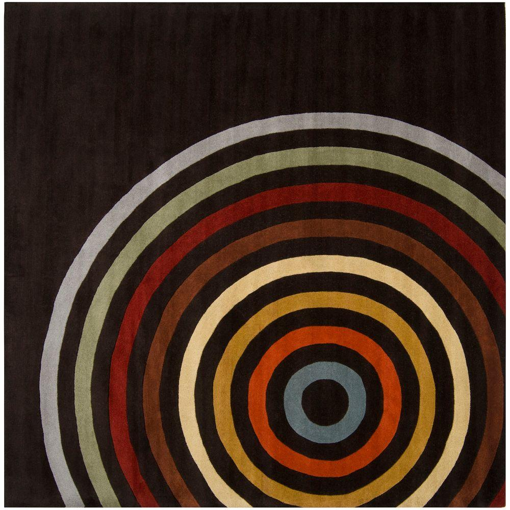 Michael Brown 9 ft. 9 in. Square Area Rug
