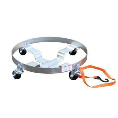 900 lb. Multi-Purpose Quad Drum Dolly - Hard Rubber