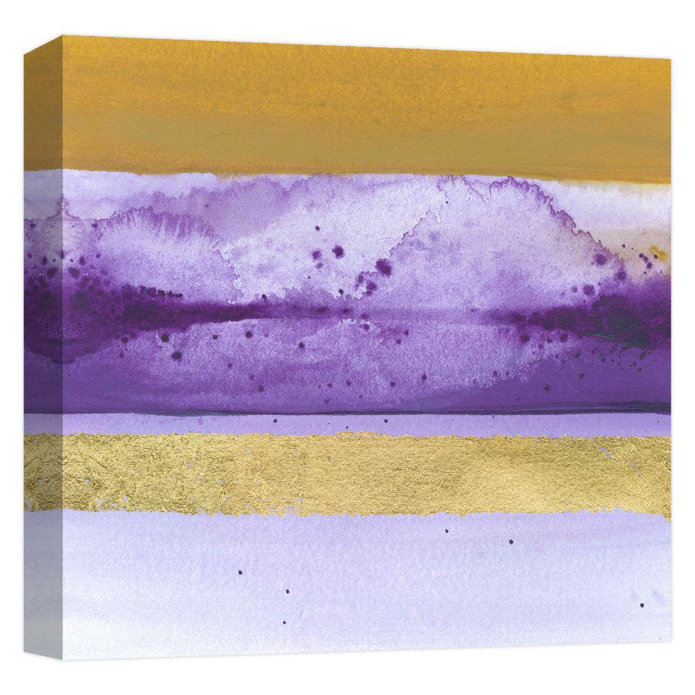 15.inx15.in ''Golden Dusk 1'' Printed Canvas Wall Art
